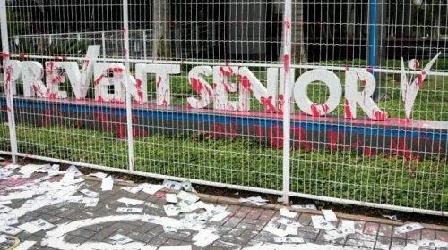 [Grupo protesta contra Prevent Senior em SP por 'justiça aos mortos da Covid-19']